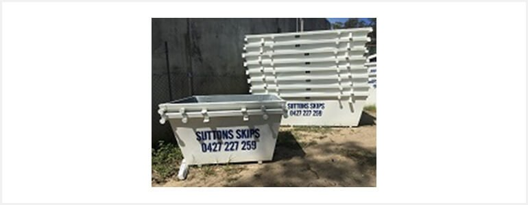 Skip Bin Hire | Rubbish Removal | Waste Disposal | Waste Recycle | Gold Coast | Sutton Skips 2mA³ Skip Bins