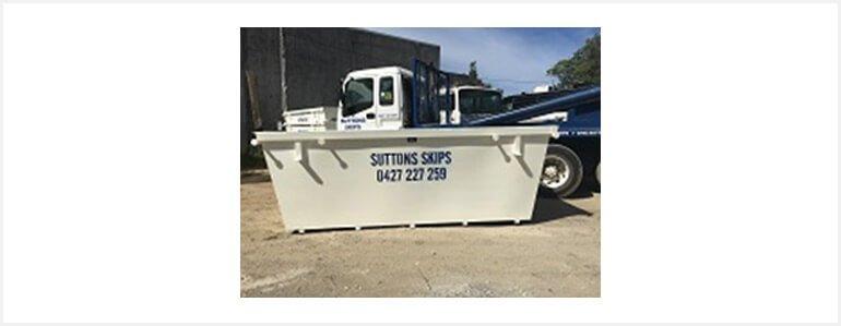 Skip Bin Hire | Rubbish Removal | Waste Disposal | Waste Recycle | Gold Coast | Sutton Skips 8mA³ Skip Bins